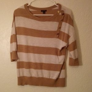 Ann Taylor 3/4 sleeve sweater shirt